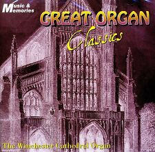 GREAT ORGAN CLASSICS ~ THE WINCHESTER CATHEDRAL ORGAN ~ MARTIN SOUTER NEW CD