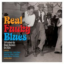 Real Funky Blues VARIOUS ARTISTS Best Of 34 Funked Up Blues Songs NEW 2 CD