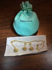 Tiffany & Co Authentic 18K 750 Twist Knot Set Earrings, Pendant And Necklace