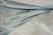 "2oz SILVER GREY NYLON COATED WATERPROOF FABRIC MATERIAL 58""CHEAP CRAFTS SHEETING"