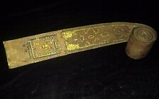 Islamic Antique 30ft Scroll Miniature Quran Koran - Real Gold Art Hand Written
