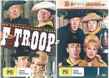 F Troop - The Complete Seasons 1 & 2  Two box Sets - 12 Disc  New And Sealed