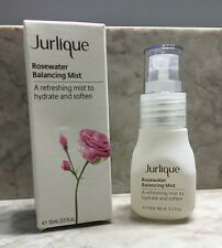 NIB Jurlique Rosewater Balancing Mist Hydrate Soften Setting Spray 15ml 0.5oz