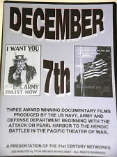DECEMBER 7th - Three Award Winning World War II Documentary Films