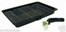 NEFF SMEG BEKO BOSCH Cooker Oven GRILL PAN TRAY & HANDLE 380mm X 280mm