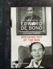 Breaking Out of the Box: The Biography of Edward De Bono by Piers Dudgeon  HBDJ