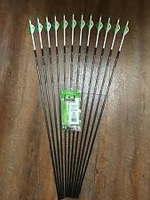 Easton Axis 400 Arrows With Blazer Vanes Custom Made Set of 6