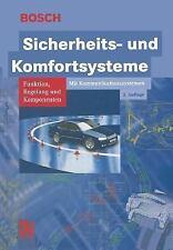 Bosch Fachinformation Automobil: Sicherheits- und Komfortsysteme : Funktion,...