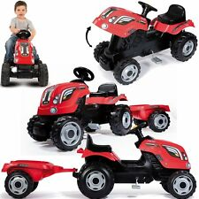 Tractor Farmer XL red+Pendant Kids tractor Novelty 2016 v. Smoby