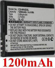 Batterie 1200mAh type BL-4D C4D10T N4D113J TB-BL4D Pour Blu Tango