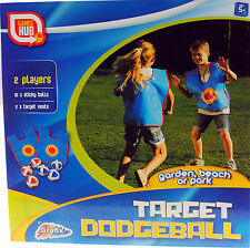 Grafix Target Dodgeball - Soft Fun Ball Game - Complete With Velcro Vests!