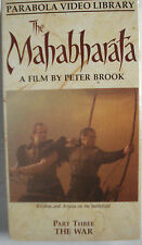 The Mahabharata Part Three - The War - A Film by Peter Brook VHS