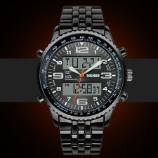 SKMEI Men's Black LED Digital Sports Waterproof Diving Wrist Watch Casual New