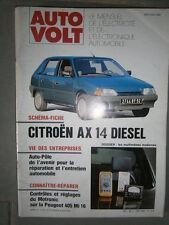 Citroën AX 1.4 diesel : Revue technique Autovolt 643