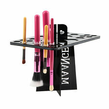 Folding Collapsible Air Drying Makeup Brush Organizing Tree Rack Holder DG
