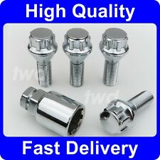 ALLOY WHEEL LOCKING BOLTS FOR BMW 5-SERIES E60 E61 M5 SECURITY LUG NUT [6H]