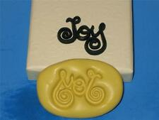 Joy Word Silicone Push Mold Mould A389 For Craft Candy Chocolate Resin