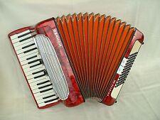 Hohner arietta II m bonito Germany piano acordeón Accordion 72 Bass аккордеон