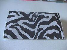 Zibra stripes vinyl checkbook cover