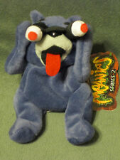 "MEANIES 5"" PEEPING TOM CAT 1998 NEW W/ TAGS BEANIE BAG PLUSH TOY ANIMAL SERIES 2"