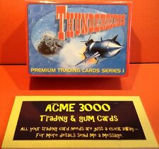 Cards Inc. 2001 - Thunderbirds Series 1 - Base Set Of 72 + Foil Set Of 15