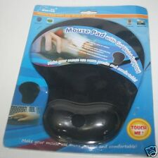 Mouse Pad With Gel Wrist Support