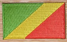 Congo Brazzaville AFRICA Country Flag Embroidered PATCH Badge