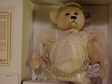 Annette Funicello Celeste Angel Ivory Mohair Bear Mint! Never displayed! 1995!