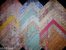 12x12 Scrapbook Paper Studio Country Road Cottage Chic Rustic Barn Wood 40 Lot