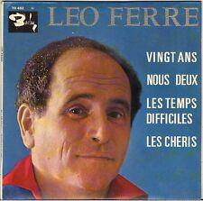 "LEO FERRE ""VINGT ANS"" EP 60'S BARCLAY 70402 EX !"
