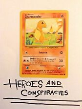 Pokemon Cards - Charmander #46/102 BASE 1st set  [EX+] - RARE (1999)
