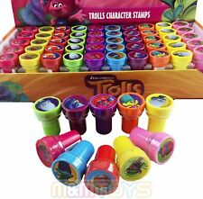 24x DreamWorks Trolls Poppy and Friends Self Ink Stamps Birthday Party Favors