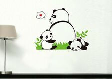 Panda and baby Home Decor Removable Wall Sticker/Decal/Decoration