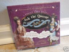 ASK THE QUEENS ADVICE FORTUNE TELLING DECK ORACLE CARDS WISDOM TAROT CATS ResQ
