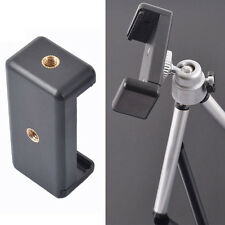 Ajustable Cell Phone Clip Tripod Mount Adapter for Smartphone iPhone HTC Samsung