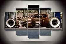 Frame Picture Antique Classic Car Vintage Wall Painting Art Canvas Prints Decor
