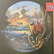 jigsaw puzzle 550 pc Jim Warren Paradise parrot whale seascape clouds