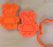 Peppa Pig Cookie Cutter and Stamp Set