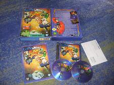 Earthworm Jim 1 und 2 Erstausgabe in PC BIG BOX Sammler mit Anleitung deutsch