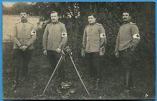 CPA PHOTO: Infirmiers du 15° Régiment de Chasseurs à Cheval / 1910