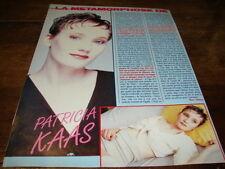 PATRICIA KAAS - Article de magazine LA METAMORPHOSE !!!!!!!!!!!