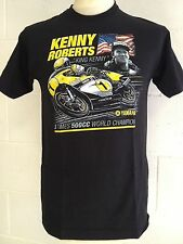 "Kenny Roberts ""King Kenny "" 3 Mal 500cc Weltmeister T-SHIRT - M-Medium"