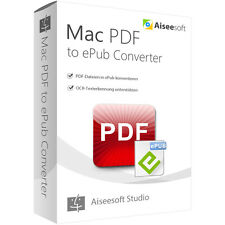 PDF to ePub Converter MAC Aiseesoft -lebenslange Lizenz ESD Download