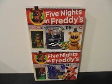 McFARLANE FIVE NIGHTS AT FREDDY'S THE OFFICE & PIRATE COVE CONSTRUCTION SETS NIB