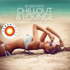 50 Greatest chillout & LOUNGE CLASSICS (presented by Lemongrass) - 3 CD-Box