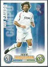 TOPPS MATCH ATTAX 2007-08-BOLTON WANDERERS-IVAN CAMPO