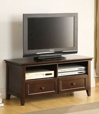 20''H CLASSIC STYLE  MODERN DESIGN WOODEN TV STAND WITH DRAWER-ESPRESSO-ASDI