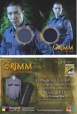 Grimm - Breygent San Diego 2014 SDCC GCC-3 Dual Costume Card worn by SGT Wu