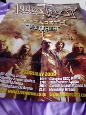 Judas priest metal hammer poster excellent condition for UK 2009 tour excellent