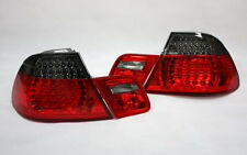 LED RÜCKLEUCHTEN HECKLEUCHTEN SET BMW E46 3er COUPE 99-03 ROT BLACK +LED BLINKER
